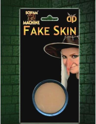 Scream Machine Fake Skin Warts Scars Halloween Wrinkles Witch Zombie Injury nose